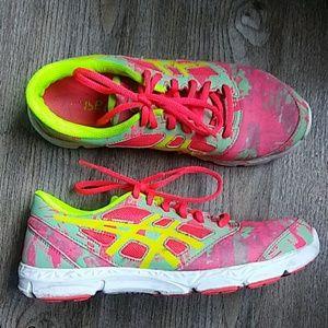 Asics Neon Running Shoes